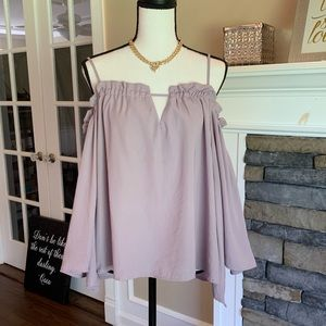 Charlotte Russe Off shoulder  Blouse